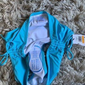 Calvin Klein Swim - CALVIN KLEIN Bikini bottom sky blue ruched side S